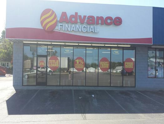 Advance Financial Store in McMinville, TN