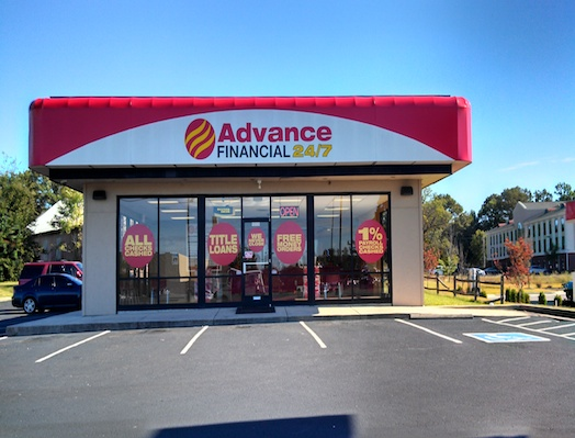 Advance Financial Store in Tullahoma, TN