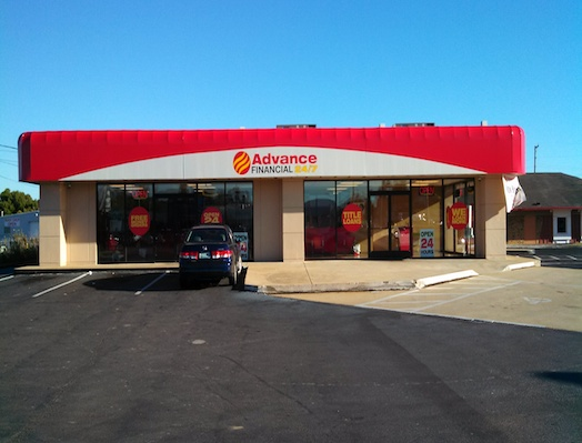 Advance Financial Store in Carmack Blvd, Columbia, TN