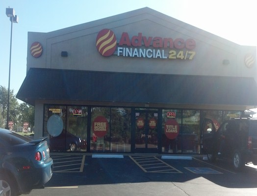 Advance Financial Location on Ft Campbell Blvd