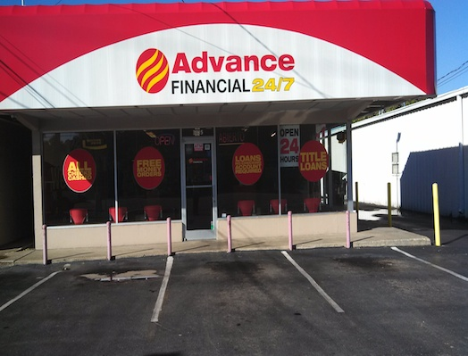 Advance Financial Store on Nolensville Rd in Nashville, TN