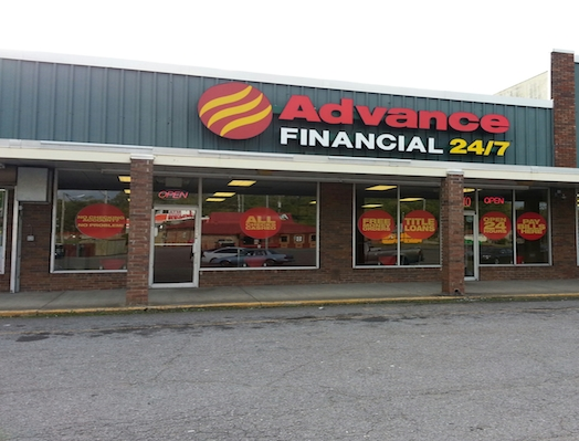 Advance Financial Store at 3713 Clarksville Highway, Nashville, TN