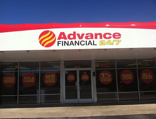 Advance Financial Store at 396 Tusculum Rd