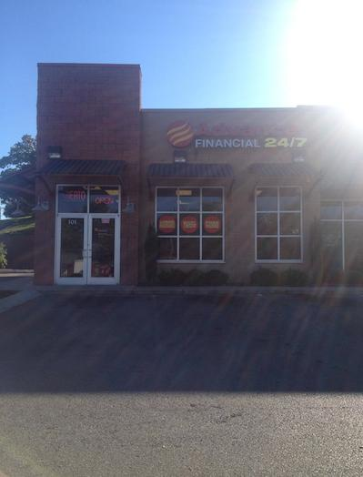 Advance Financial Location on South Riverside Drive in Clarksville