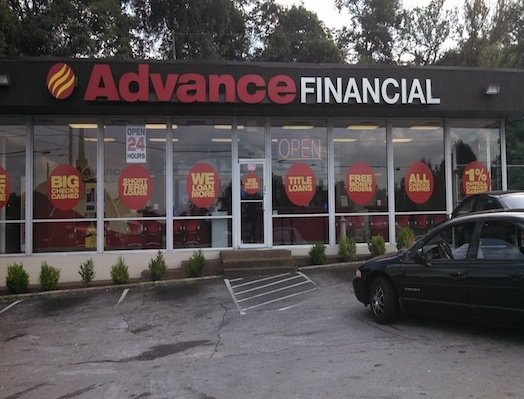 Advance Financial Store Location at 2845 Lebanon Pike