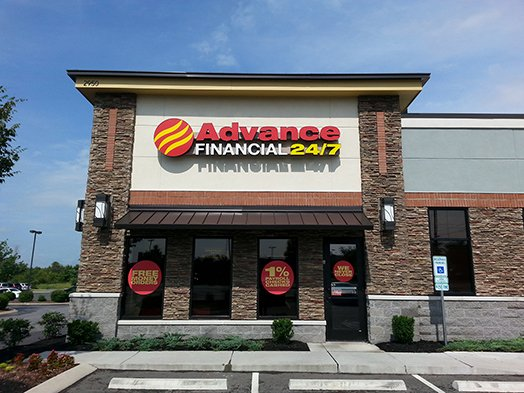 Advance Financial store on S Rutherford Blvd in Murfreesboro