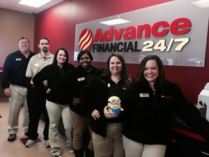 Advance Financial Shelbyville store team members