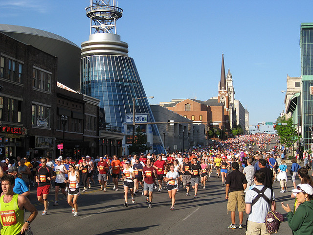 nashville's country music marathon