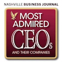 Tina Hodges named one of Nashville's most admired CEOs by the Nashville Business Journal