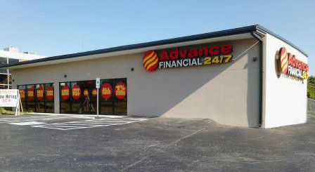 advance financial store, knoxville tn
