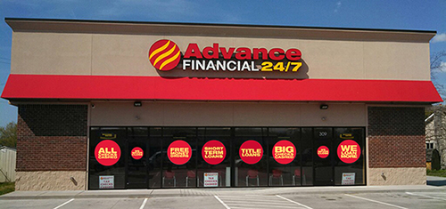 new Advance Financial store in Lebanon, TN
