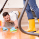 Spring Cleaning- Mopping Floor