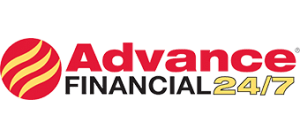 Advance financial logo 247 registered