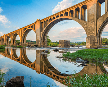 Train Bridge Richmond Virginia: Online Loans