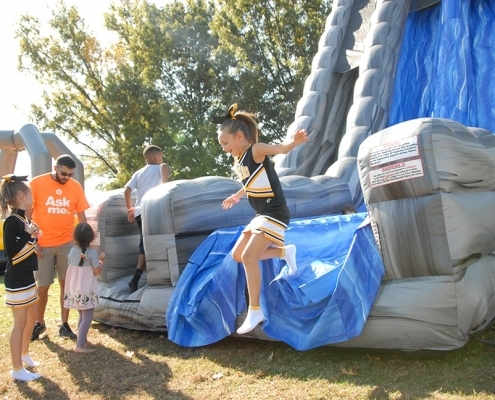Advance Financial 20th Anniversary Event- Inflatable Kids Slider