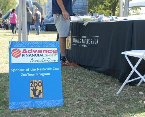Advance Financial Foundation- Sponsor of the Nashville Zoo