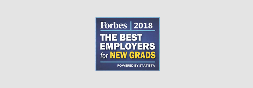 AF Received Award from The Best Employers for New Graduates
