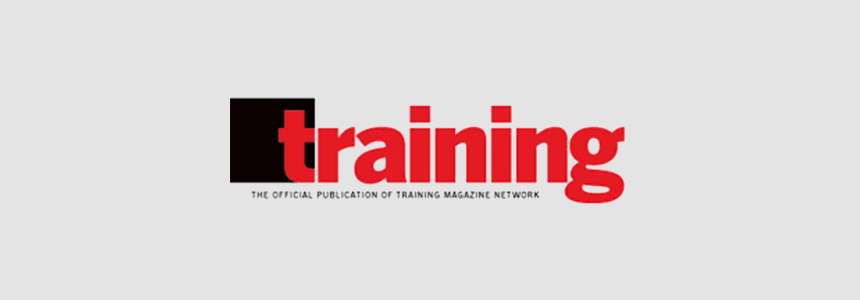 AF Received Award from Training Magazine