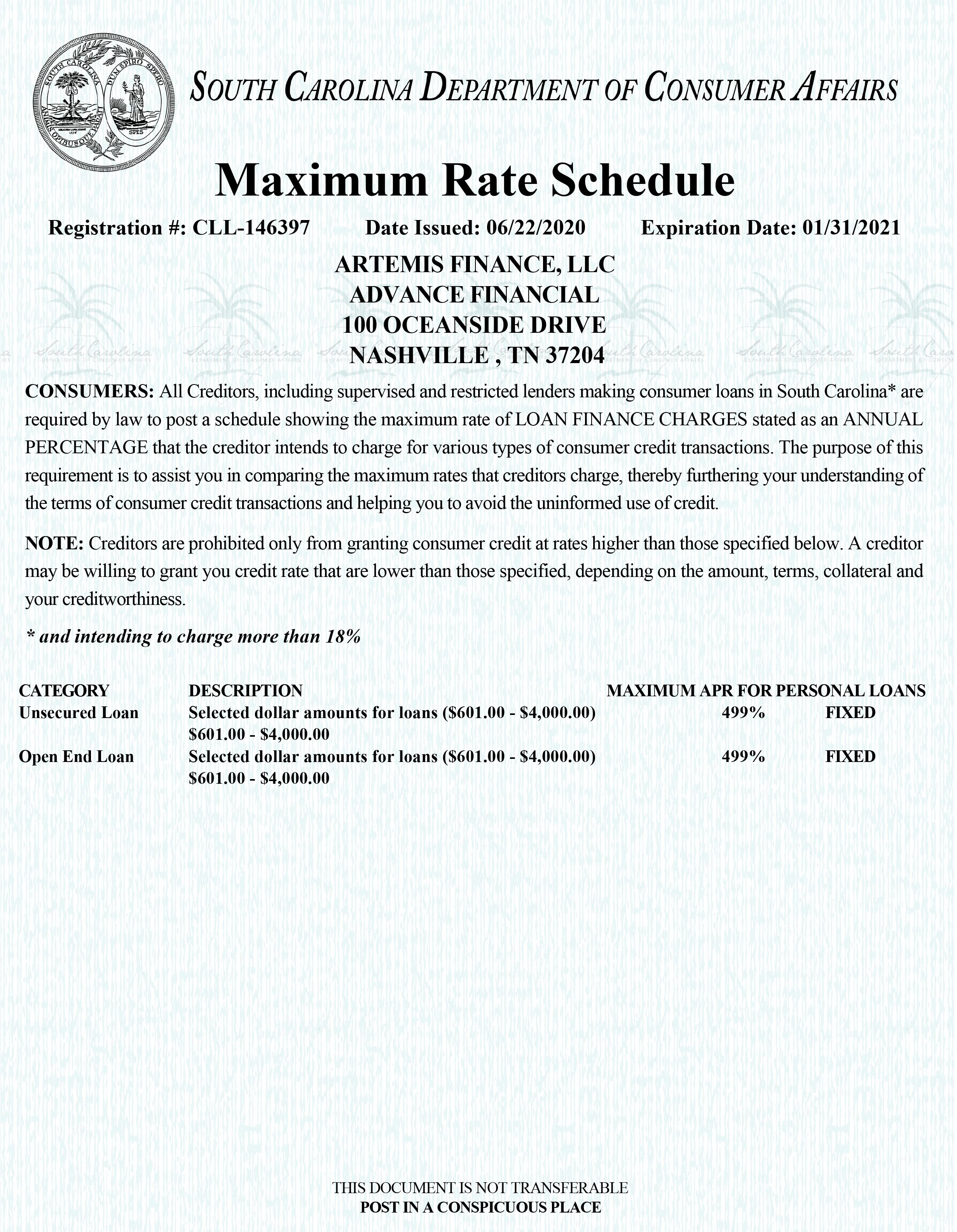 south_carolina_max_rate_licenses